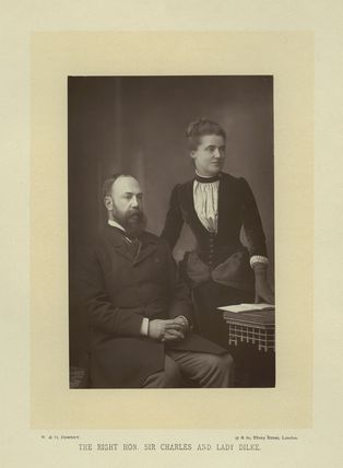 Sir Charles Wentworth Dilke, 2nd Bt; Emilia Francis (née Strong), Lady Dilke