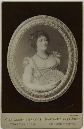 Ellen Terry as Madame Sans Gêne in 'Madame Sans Gêne'