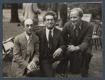 James Stephens; Samuel Solomonovich ('Kot') Koteliansky; Stephen Potter