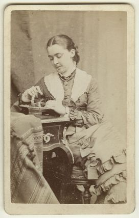 Alicia Ellen Neve Little (née Bewicke) (Mrs Archibald Little)