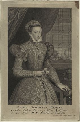 Unknown sitter, formerly known as Mary, Queen of Scots
