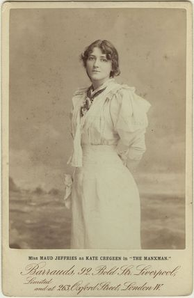 Maud Jeffries as Kate Cregeen in 'The Manxman'