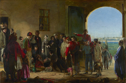 The Mission of Mercy: Florence Nightingale receiving the Wounded at Scutari