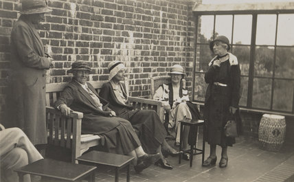 Beatrice Webb with four others