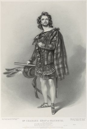 Charles John Kean as Macbeth