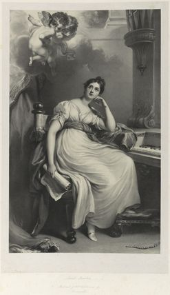 Elizabeth Williams (née Currie) as St Cecilia