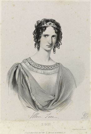 Eleanora ('Ellen') Kean (née Tree) as Ion in 'Ion'