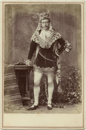 Prince Arthur, 1st Duke of Connaught and Strathearn as a fairy prince