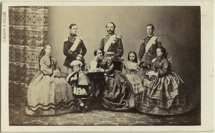 Christian IX, King of Denmark and his family