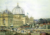 Opening of the 1862 London International Exhibition, by Edward Sherratt Cole