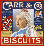 Biscuits Label by Carr & Co.