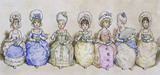 Tea Party, by Kate Greenaway