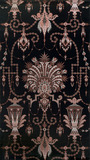 Furnishing fabric with a Etruscan design