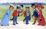 My Friend The Prince, by Louis Wain