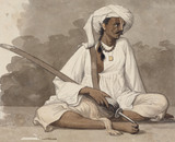 A Soldier Retainer of The King of Oudh, by Robert Home