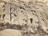 Abou Simbel Rock Temple, photo Francis Frith