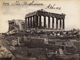 The Parthenon, photo Francis Frith