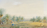 Distant View of Bushire in the Persian Gulf, by James Baillie Fraser