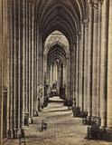 Amiens Aisle nave, photo Francis Frith