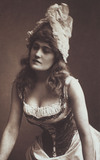 Belle Bilton in character, photo W&D Downey Photographers