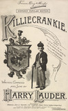 Song sheet cover for Killiecrankie