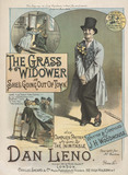 Song sheet cover for The Grass Widower