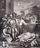 The Four Stages of Cruelty in Perfection, by William Hogarth