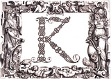 Initial K, by Francesco Giovanni Cresci