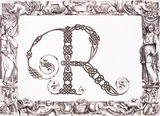 Initial R, by Francesco Giovanni Cresci