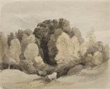 Cattle near the Edge of a Wood, by John Constable