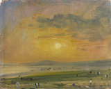 Shoreham Bay, Evening Sunset, by John Constable