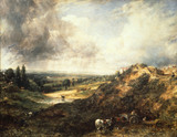 Hampstead Heath, Branch Hill Pond, by John Constable