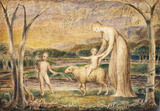 The Christ Child Riding on a Lamb, by William Blake