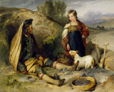 The Stone Breaker and his Daughter, by Sir Edwin Landseer