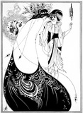 The Peacock Skirt, by Aubrey Beardsley