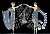Fashion Illustration, by Erté
