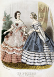 Two Ladies in Ball Dresses