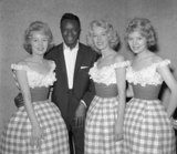 Beverley Sisters and Nat King Cole