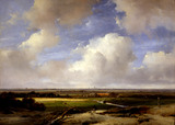 Landscape Near Haarlem, by Andreas Schelfhout