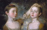 Mary and Margaret Gainsborough, by Thomas Gainsborough