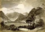 View at Langdale, by John Constable