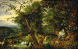 The Garden of Eden, by Jan Brueghel the Elder