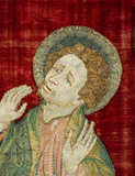St John, detail on a panel