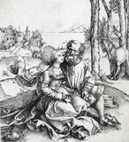 The Ill Assorted Couple, by Albrecht Dürer