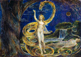 Eve Tempted by the Serpent, by William Blake