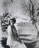 Princess Elizabeth, photo Cecil Beaton