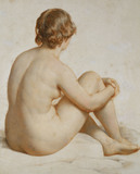 Academic Study of A Female Nude, by William Mulready
