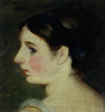 Portrait of a girl, probably Mary Constable, by John Constable