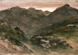 A View in Borrowdale, by John Constable