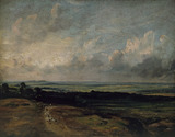 Hampstead Heath, Harrow in the Distance, by John Constable